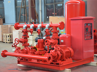 Fire Pump Unit to Mexico 500 gpm