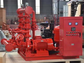 Skid Mounted Fire Pump to SKA 1200 gpm