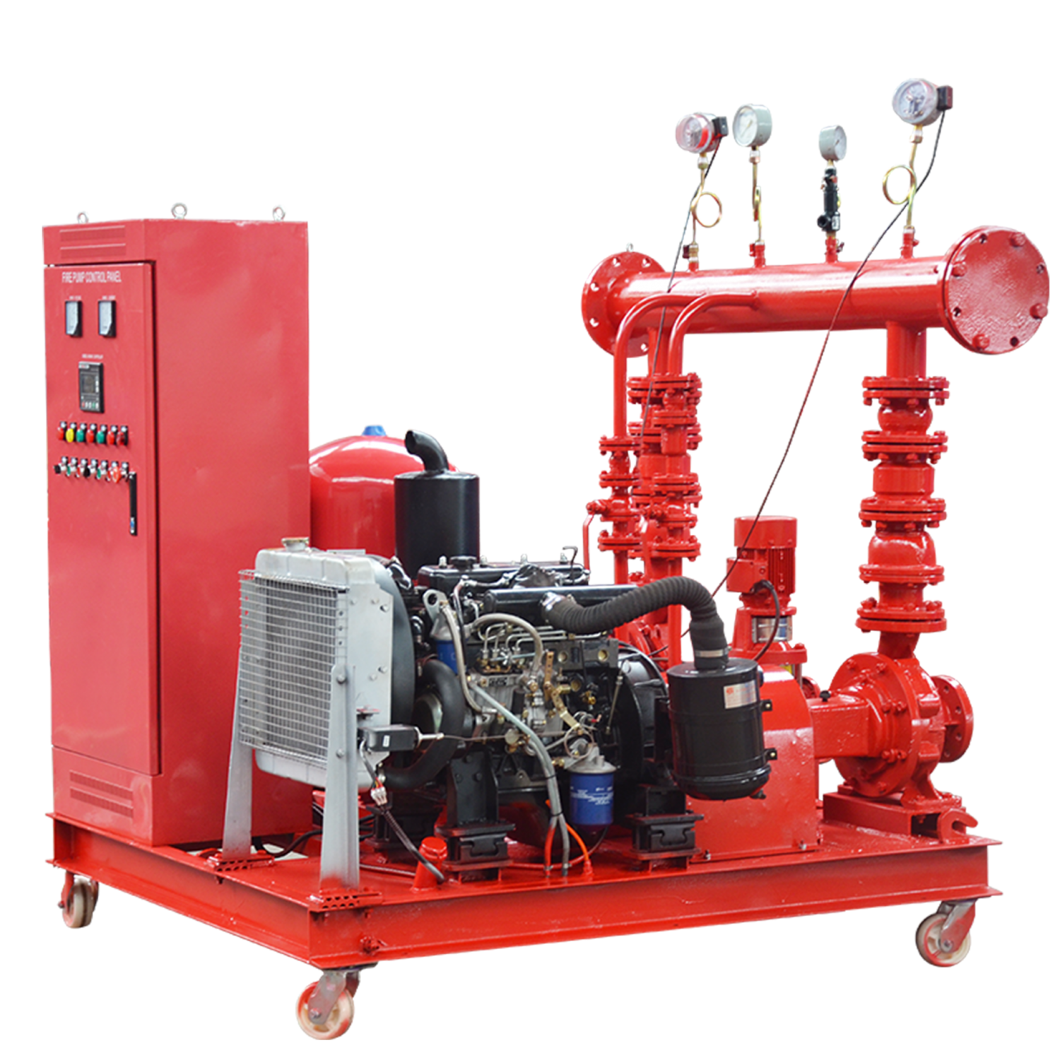 fire fighting pump package set