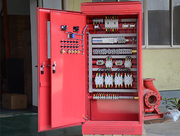 Fire inspection control cabinet