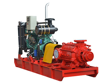 XBC-D Diesel Engine Multistage Fire Pump