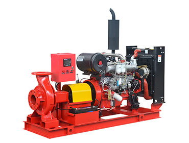 XBC-IS End Suction Diesel Fire Pump