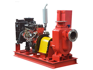 ZWC diesel engine driven self priming pump for irrigation