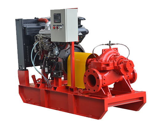 XBC-S Single stage Split Case Diesel Engine Fire Pump