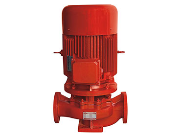 XBD-L Vertical Single stage single suction fire pump