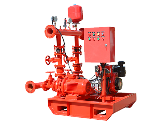 small flow fire pump set